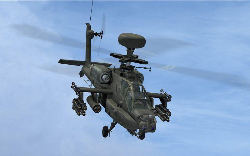 AlphaSim AH-64D Apache Longbow アドオンヘリ