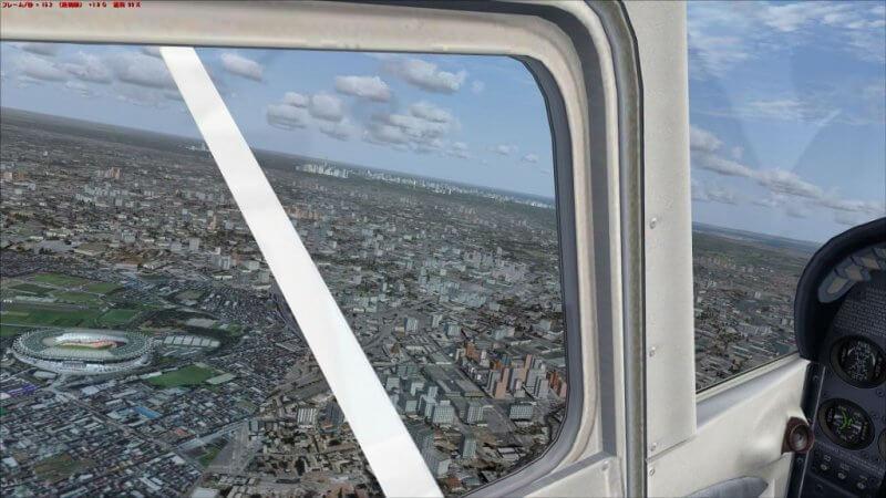 GTX1050Tiに交換後に飛行