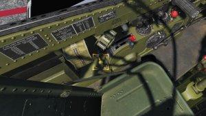 TF-51D フラップレバー