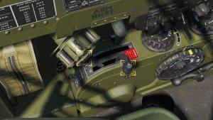 TF-51D キャブレター制御レバー及びキャブレターラムエアコントロールレバー