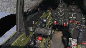 TF-51D プロペラコントロールレバー