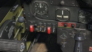 TF-51D FUEL BOOSTERスイッチを「ON」