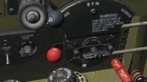 TF-51D Mixture control
