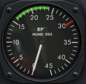 TF-51D 回転計