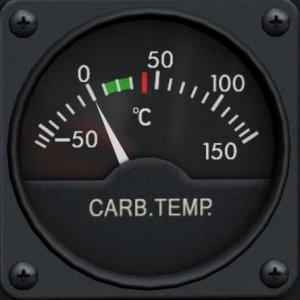 キャブレター温度計