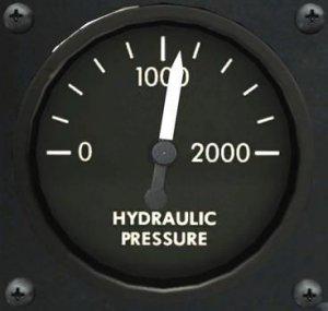 TF-51D 油圧計
