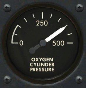 酸素圧力計