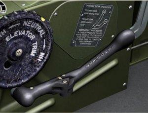 TF-51D ランディングギアハンドル