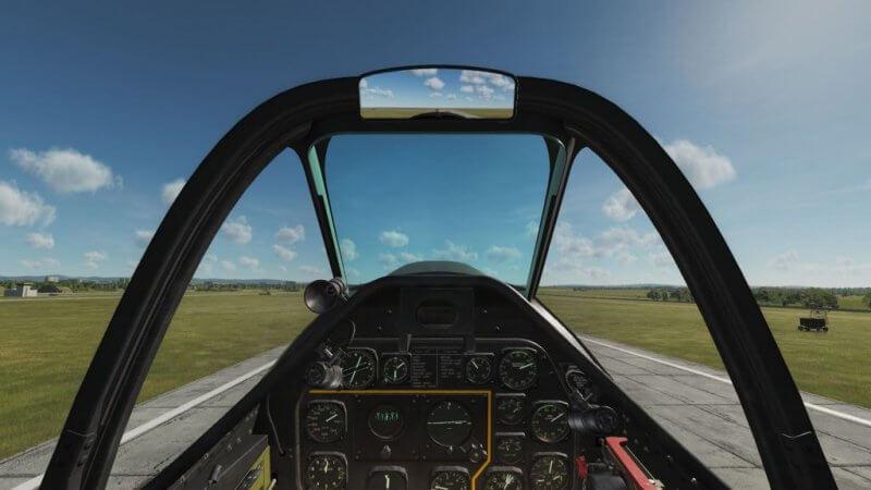 TF-51D 離陸中