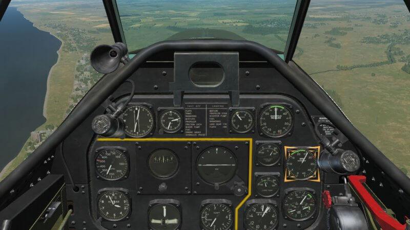 TF-51D エンジン回転数を2700 RPMに