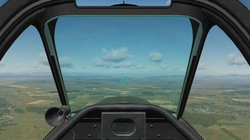 TF-51D Landing Training 緑色のゲート