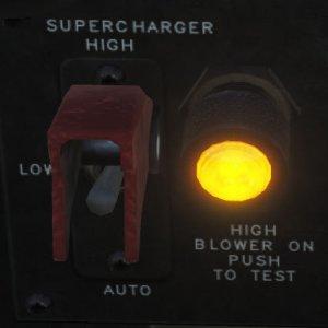 TF-51D スーパーチャージャースイッチ